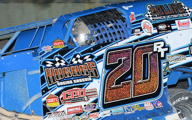 Thornton takes down USMTS victory, Greenville Speedway wall for second win of 2017